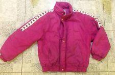 Vintage Pink KAPPA puffa Style Jacket /coat