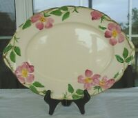Vintage Franciscan Desert Rose Earthenware Gladding, McBean & Co. Platter Plate