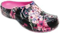 Crocs Freesail Printed Womens Clog - Tropical-Floral 203791 US Sz 8 $59.95