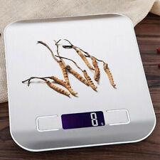 5KG Digital Kitchen Scales Electronic LCD Display Food Weighing Balance Scale US
