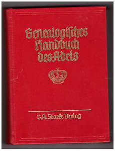 Genealogisches Handbuch des Adels FÜRSTLICHE HÄUSER, Band XII, 1984, Band 83