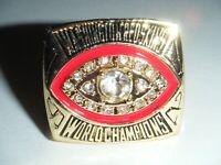 World Champions 1982 WASHINGTON REDSKINS Football Super Bowl XVII Replica Ring