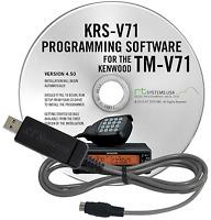 RT Systems KRS-V71 Programming Kit for Kenwood TM-V71A - Authorized Dealer