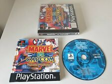 MARVEL vs CAPCOM CLASH OF SUPERHEROES. PS1 Game. Complete (PlayStation One, PAL)