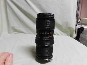 Vivitar 75-205mm F3.8 Lens 75-205/3.8 Lens w/ Hoya Filter
