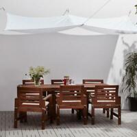 Sonnensegel,weiß,300x200cm,Schirm,Sonnenschirm,Sonne,Garten,Sonnenschutz