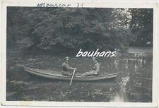 Foto Reich militare soldati in gita in barca (b749)