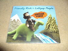 FRIENDLY RICH AND THE LOLLIPOP PEOPLE MINT NEW & SEALED CD ALBUM FREE POST IN UK