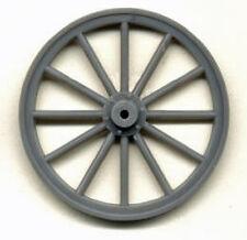 "Large Wood Spoke Wheels G 1/2"" Scale Model Railroad Plastic Detail Part Gl3910"