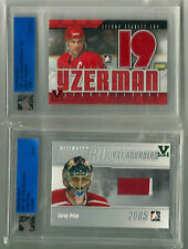 Yzerman ITG Ultimate Vault 1/1 on UM12 Second Stanley Cup Jersey Ruby Logo