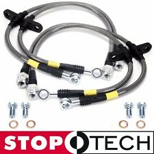 StopTech Stainless Steel Braided Brake Lines - Front Rear (92-95 Honda Civic) EG