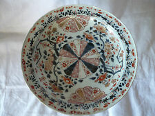 GRAND PLAT OU COUPE PORCELAINE DU JAPON IMARI 18 EME SIECLE DIAMETRE  34,8 CM