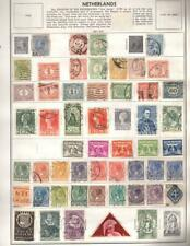1¢ WONDER'S ~ NETHERLANDS MINT & USED ON PAGES ALL SHOWN ~ Y59