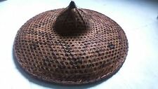 Old great  Afsian hat. ancien grand chapeau Asie