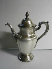 Antique Reed & Barton 4080 De Champlain EPNS Silver Plated Coffee Pot Gorgeous