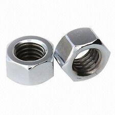 M6 Plain Steel Nuts - Pack of 10