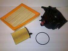 Ford Fusion 1.6 TDCi Diesel Service Kit Oil + Air + Fuel Filter 2005-On 90BHP