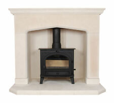 THE KENT MULTI FUEL STONE  FIREPLACE / FIRE PLACE SURROUND