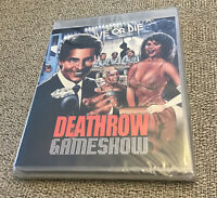 DEATHROW GAMESHOW 1988 Blu-ray & DVD combo Vinegar Syndrome New Region Free OOP