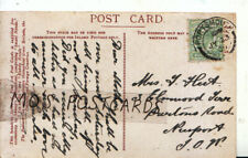 Genealogy Postcard - Fleet - Burtons Road - Newport - Isle of Wight - Ref 6658A