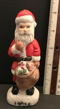 Santa 1925 Santa Claus Christmas Figurine Hand Painted Midwestern Home Vintage