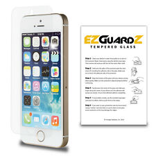 2X For Apple iPhone 5SE EZguardz Premium Tempered Glass Screen Protector