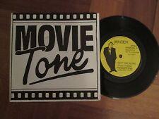 """Movietone-a lo largo de la próxima vez-Reino Unido 7"""" - hágalo usted mismo prensa privada de onda de sintetizador mínima -1983"""
