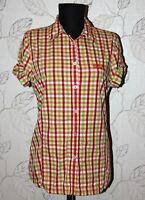 Jack Wolfskin womens active wear shirt Size EU S / UK 10 Short Sleeve