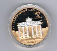 Cook Islands 1 Dollar 2009 World Monuments Brandenburg Gate  (Box 31)