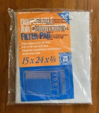 True Blue Washable Window Air Conditioner Filter Pad, 15x24 2 Pack