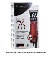 OSTER CLASSIC 76 Professional Hair Clipper 76076-010 -PLUS Universal 10 Comb Set