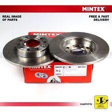 2X MINTEX DISC BRAKES REAR AUDI 80 A4 COUPE SEAT EXEO 3R2 EXEO 3R5 1.6 1.8 2.0