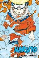 NEW Naruto, Volume 1, 2 & 3 By Masashi Kishimoto Paperback Free Shipping