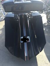 """harley touring baggers 7"""" down 14"""" back stretched saddlebags & rear fender 09-13"""