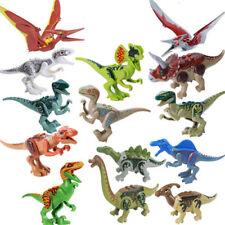 14pcs Jurassic mondo Parco dinosauri tirannosauro Mini Figures Giocattoli Lego