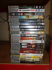 PSP UMD Movies  x 20 new & sealed mixed titles  RRP £50+    (box 225)