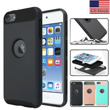 For iPod Touch 5th/ 6th/7th Gen Shockproof Impact Rugged Rubber Hard Case Cover