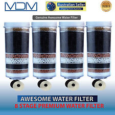 New Awesome Water Filter BPA Free 8 Stage Prestige Healthy Aimex Pure 4 Pack