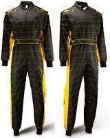 Cordura Atlanta CS-2 Overall -Speed - Hochwertiger Kartoverall  schwarz/gelb