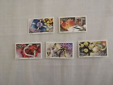 MALTA STAMPS 2000 - GREETINGS 2000 - SET OF FIVE - MINT NEVER HINGED