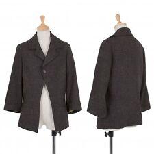 Yohji Yamamoto FEMME Wool Linen Jacket Size S(K-39427)