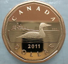 2011 CANADA LOONIE PROOF ONE DOLLAR COIN