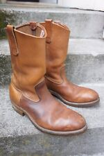 Vintage Red Wing 1105 Pecos Leather Western Cowboy Boots ~ Size: 8 E US