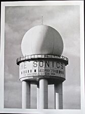 The Sonics Mini-Concert Poster Reprint for 2014 Leeds UK  14x10