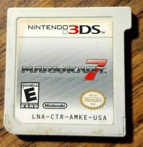 Mario Kart 7 (3DS, 2011) VG Shape & Tested