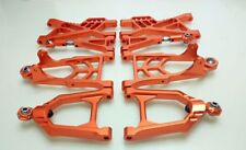 CNC Alloy suspension arm front rear Set for 1/5 hpi baja 5b parts km rovan 8pcs
