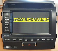 TOYOTA LAND CRUISER NAV GPS DVD NAVIGATION DISPLAY SCREEN MONITOR 86111-60400