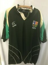 LFR Ireland Rugby Jersey XXL Green Shirt Live for Rugby 2XL Irish Shield