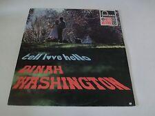 Dinah Washington – Tell Love Hello Fontana – 858 045 FPY Dutch LP