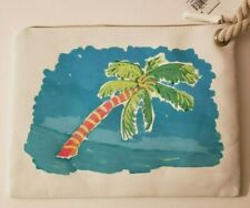 Beach Surf / Wet Bikini Bag / Palm Tree Tote Beach Bag Summer